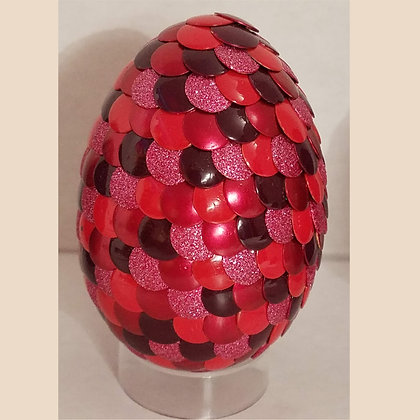 Red 2.75 inch Dragon Egg