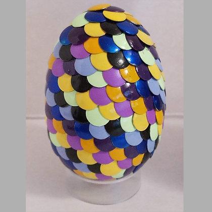 Multicolored 2.75 inch Dragon Egg
