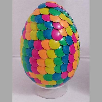Multicolored Neon 2.75 inch Dragon Egg