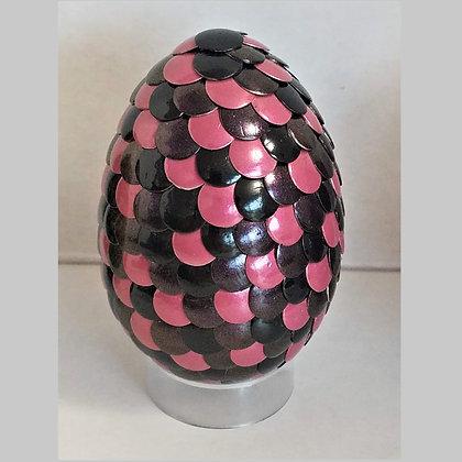 Pink Black 2.75 inch Dragon Egg