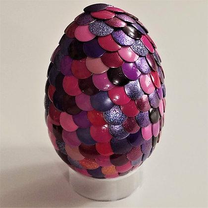Pink Purple 2.75 inch Dragon Egg