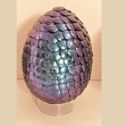 Green Purple Colorshift 3 inch Dragon Egg