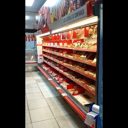 Balcão Expositor Vertical Carnes Embaladas