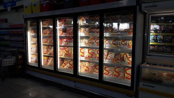 Balcão Expositor Vertical 5 Portas Congelados