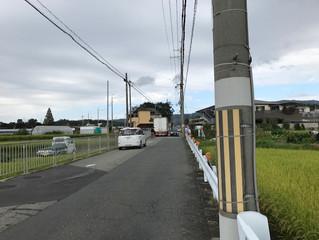 大阪府道4号線(茨木能勢線)の歩道整備促進を