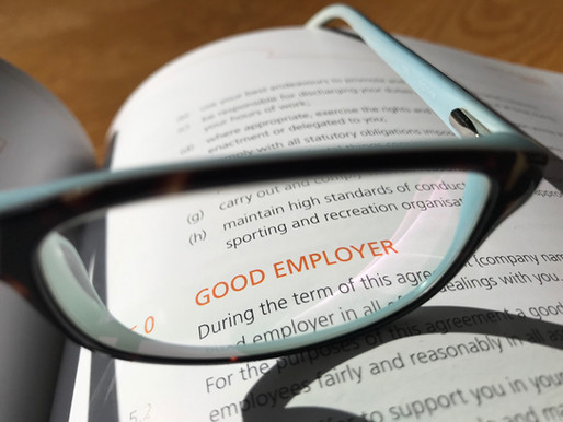 Why your employee agreements need to be in place and up to date