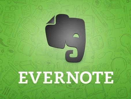 Gerenciando tarefas com Evernote