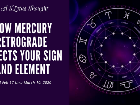 How MIR Affects Your Sign And Element