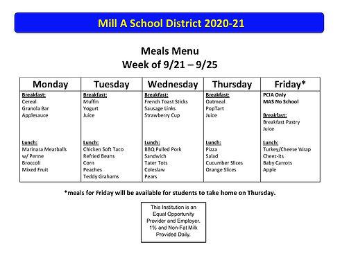 2020-21 Meals Menu Week 5_ 9_21-9_25-pag