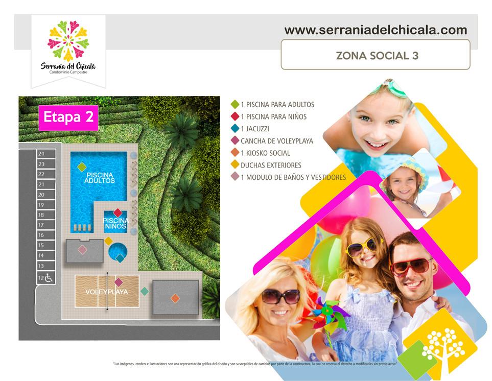 Etapa 2. Zona Social 3