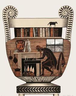 Herakles writes Home