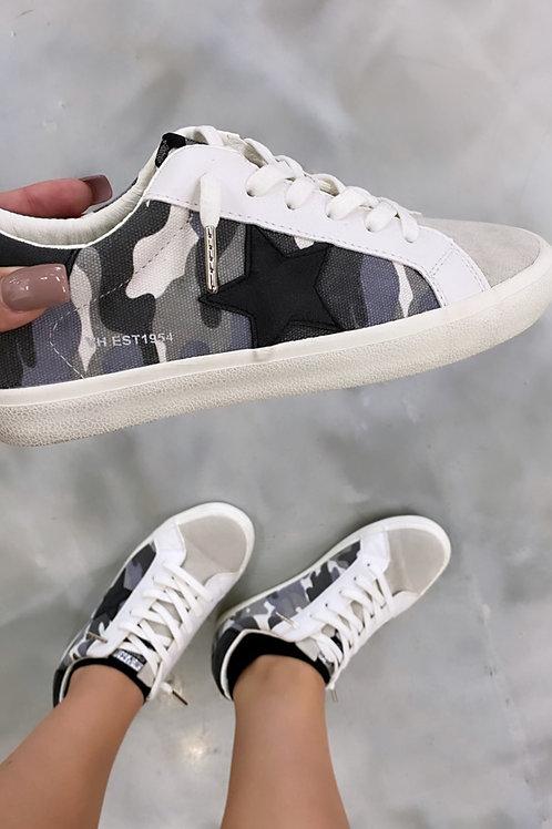 Camo Star Shoes