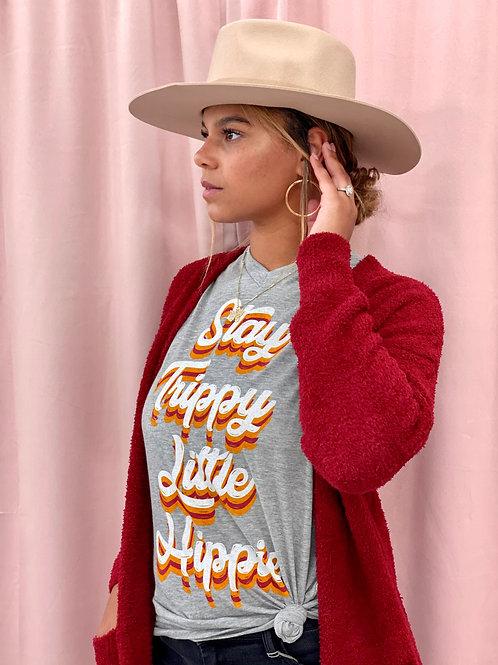 Stay Trippy Little Hippie Tee