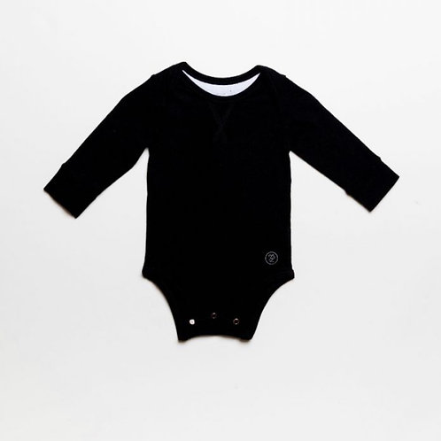 Long Sleeved Bodysuit Onyx