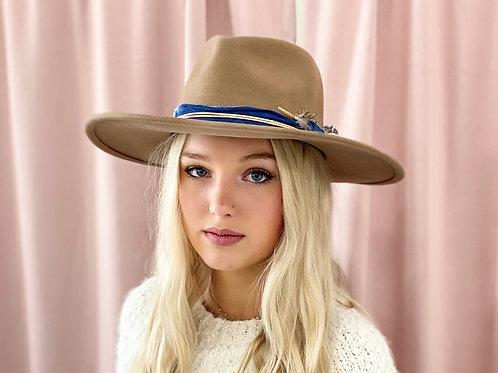 Amelia Brown Hat