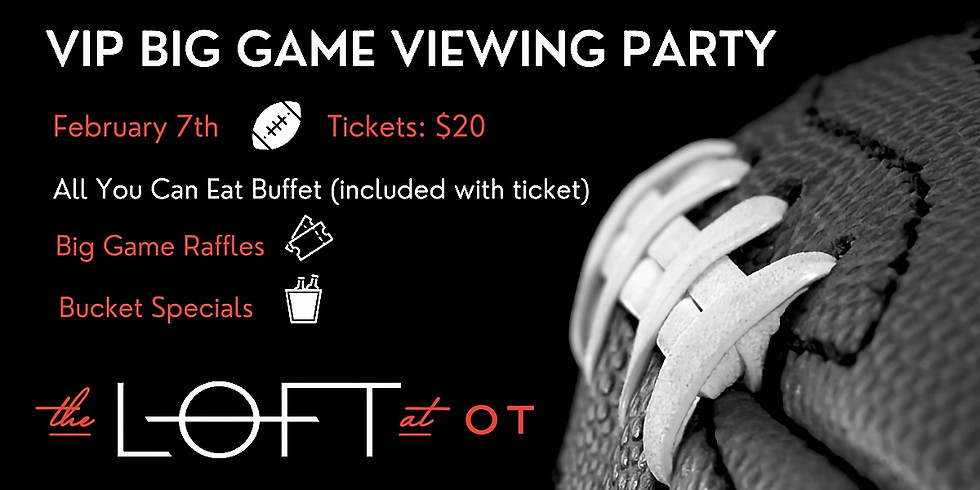 VIP Big Game Viewing Party