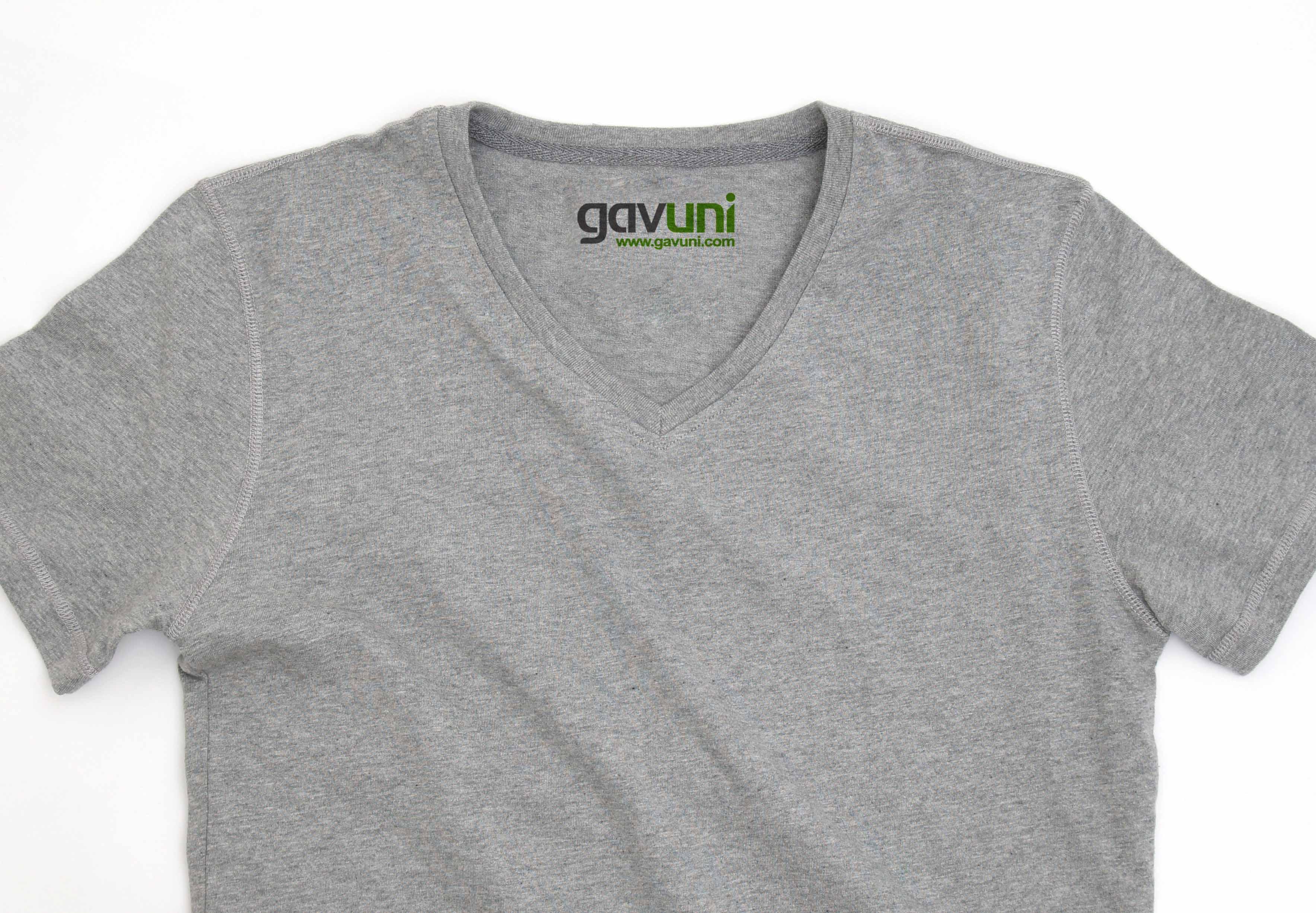 綿質圓/V領衫