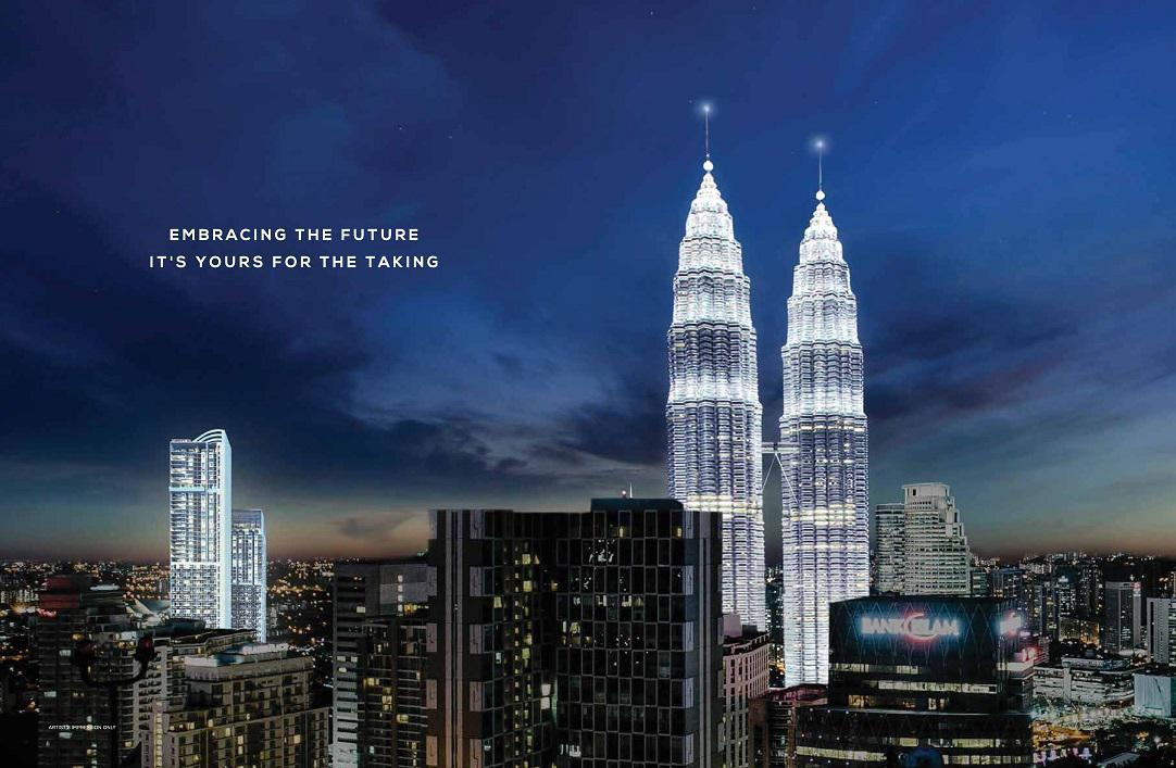 The KLCC Twin Tower