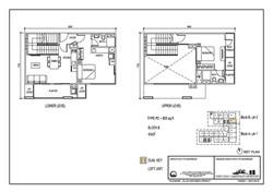 The Luxe Floor Plan Type P2 953sqft