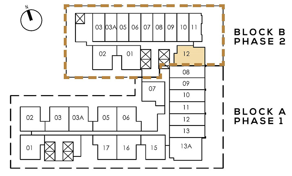 The Colony By Infinitum Site Plan Phase 1
