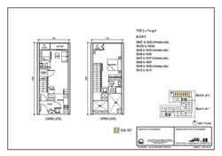 The Luxe Floor Plan Type B 714sqft