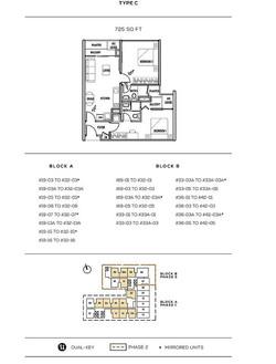 Colony Infinitum Floor Plan Type C