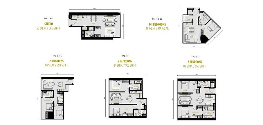 So-Sofitel-Residences-KL-floor plan all.
