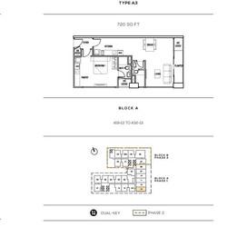 Colony Infinitum Floor Plan Type A3
