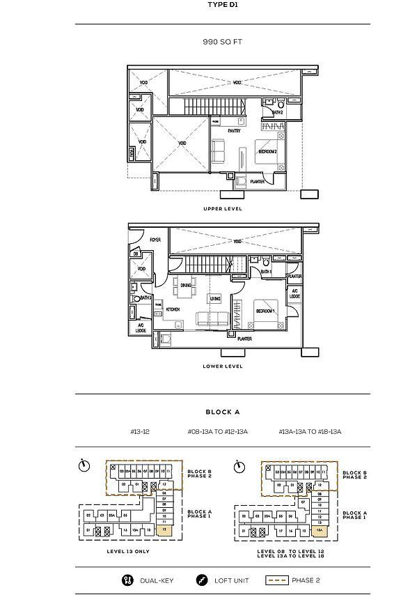 Colony Infinitum Floor Plan Type D1