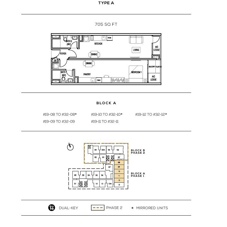 Colony Infinitum Floor Plan Type A