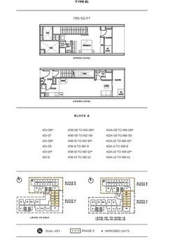 Colony Infinitum Floor Plan Type B1