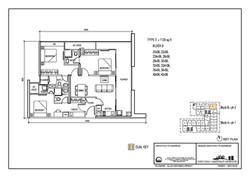 The Luxe Floor Plan Type E 1120sqft