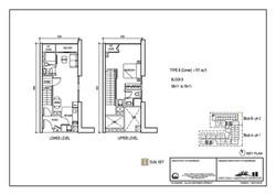 The Luxe Floor Plan Type B(C) 701sqft