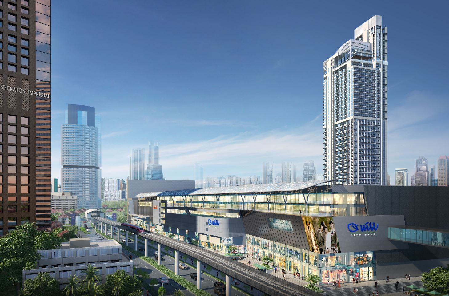 Colony Infinitum KLCC Quill Mall
