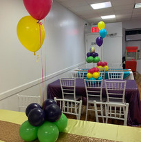 Party Hall Tables and Chairs
