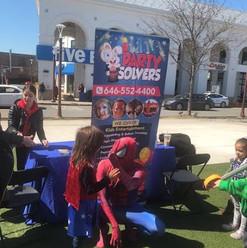 Spider Man Party Queens