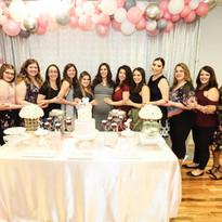 Pink Babyshower Hall Rental