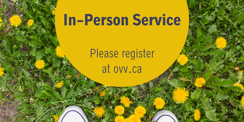 OVV Sunday Service In-Person and Online
