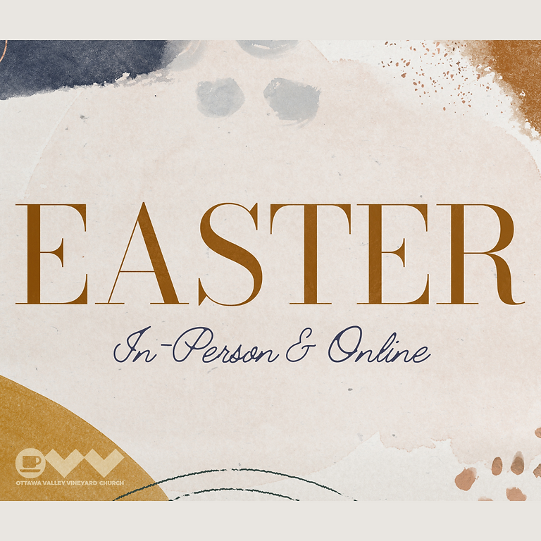 OVV Easter Sunday Service In-Person and Online
