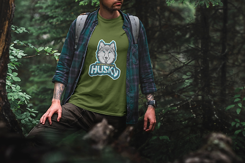 TEST Happy Island Husky T-Shirt TEST