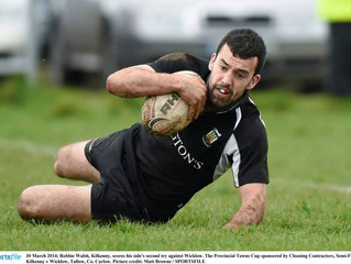 Provincial Towns Cup match Kilkenny VS Ashbourne in Tullow RFC 20.4.14