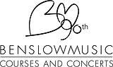 Benslow Music 90 Logo_BM90 Logo Vert Bla