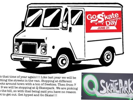 Go Skate Day at Q skatepark