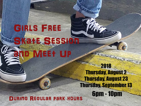 Girls Free Skate Session and Meet Up