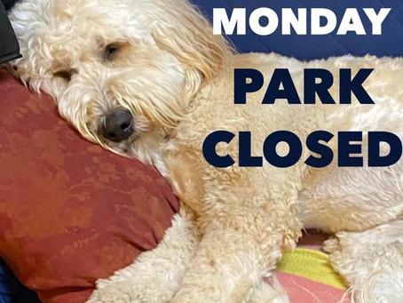 2/15/21 Park Closed