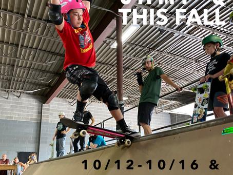 Registration Open for Fall Skate Camp