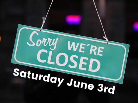 Q Skatepark Closed June 3