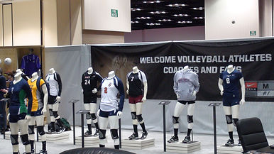 Volleyball Jersey Display