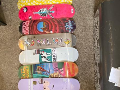 New Skateboard Decks