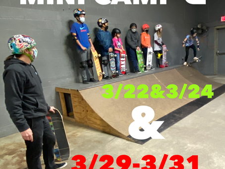 March Skateboard Camps Announced